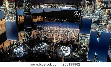 Mercedes Benz Festival Hall Frankfurt Iaa Motor Show