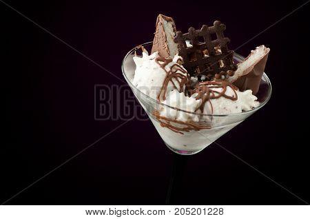 Ice Cream In A Vase