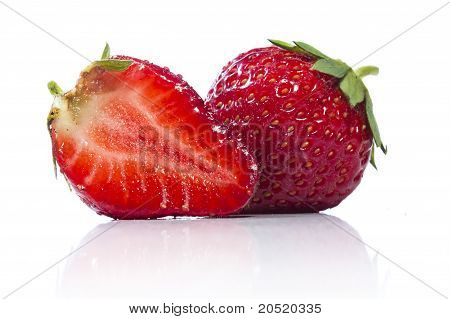Strawberry and a half