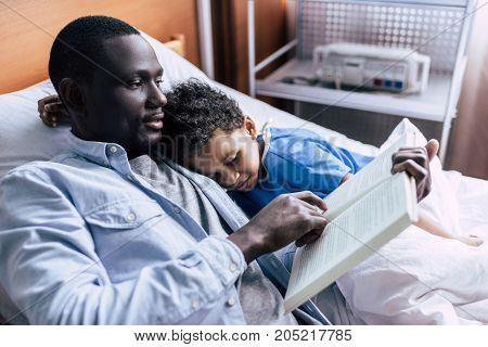 African American Family In Clinic