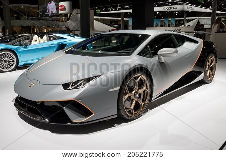 Lamborghini Huracán Performante Sports Car