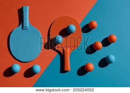 Ping Pong Rackets And Balls
