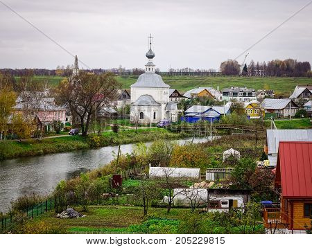 Landscape Of Suzdal Old Town, Russia