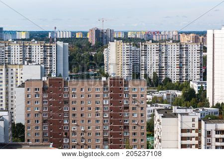Zelenograd - sleeping area of a Moscow Russia