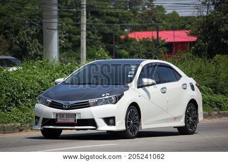 Private Car, Toyota Corolla Altis. Eleventh Generation Black Top