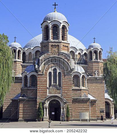 Exterior Of Bulgarian Orthodox Church Sveti Sedmochislenitsi