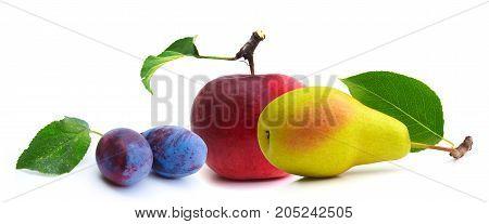 Fruit Isolated On A White Background