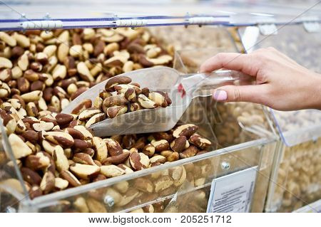 Buyer Takes Brazil Nuts In Store