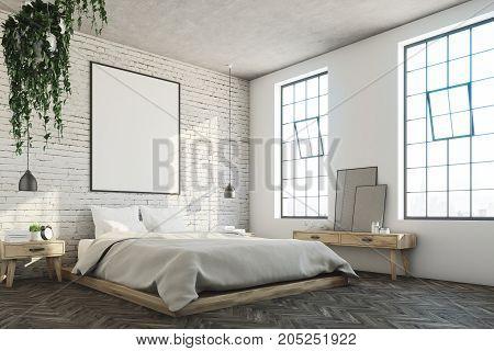 White Brick Bedroom, Poster Corner