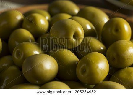 Organic Greek Green Olives