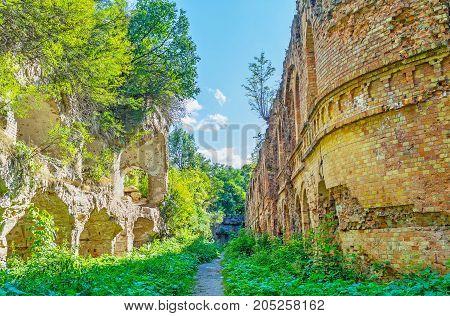 The Old Tarakanov Fort