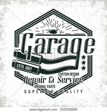 Motorcycle vintage graphics, Hot rods typography print, Biker T-shirt stamp, teeshirt graphic, vintage Motorcycle garage Emblem, vintage hot rods service center emblem, vector