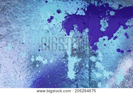 Abstract bright background in blue, white and violet colors