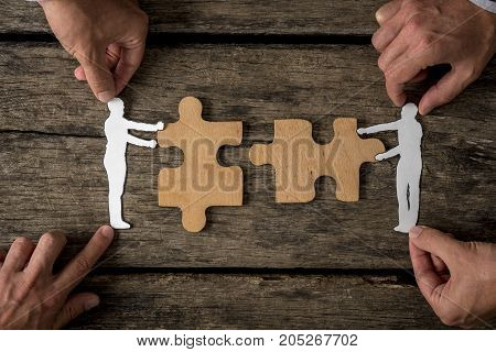 Suitable For Business Teamwork Concept