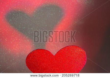 Romantic Love Heart Shape