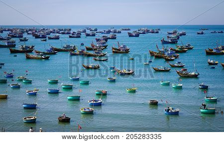Seascape Of Phan Thiet, Southern Vietnam