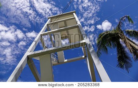 Watch Tower Under Blue Sky At Sunny Day
