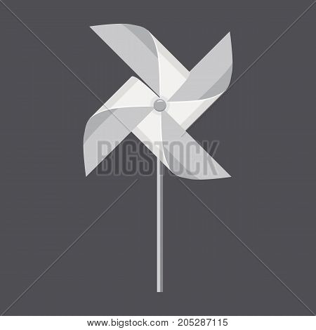 Origami hand mill concept background. Realistic illustration of origami hand mill vector concept background for web design