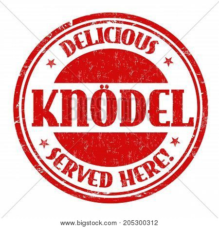 Knodel Sign Or Stamp