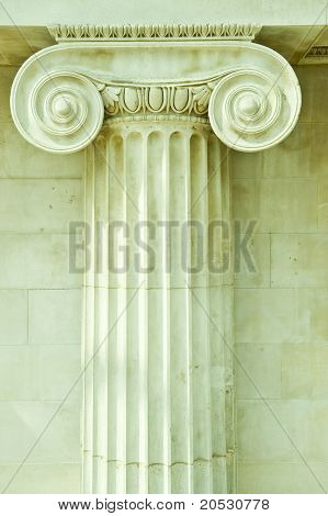 Corinthian Antique Column