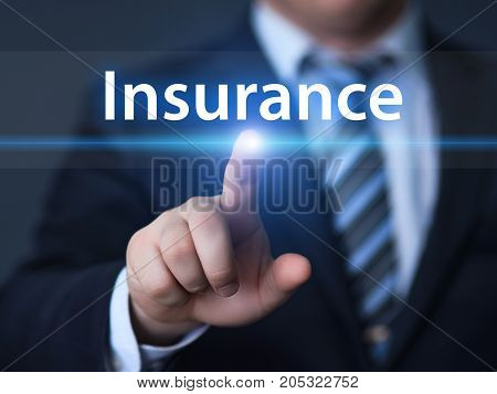Insurance Life House Car Health Travel Business Health concept.