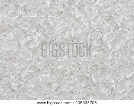 close up of msg flavor enhancer crystals food background