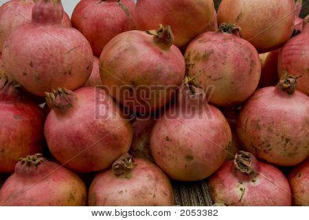 Fresh pomegranites