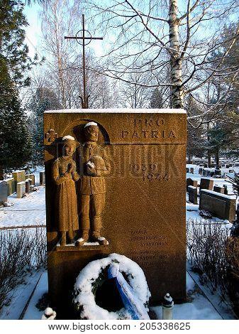 World War 2 memorial for the fallen.