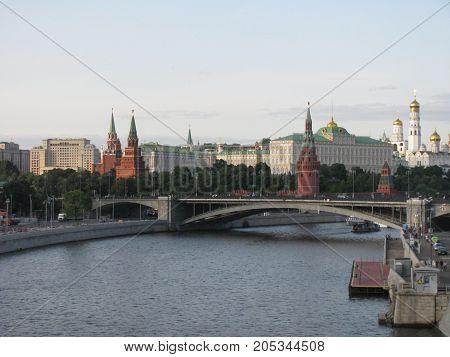 Moscow city. Capital city Russian Federation. Kreml.