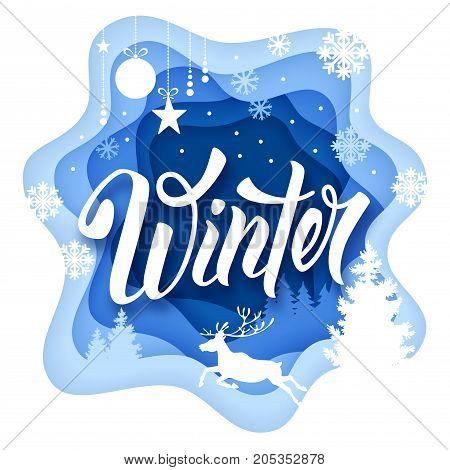 Winter Paper Art