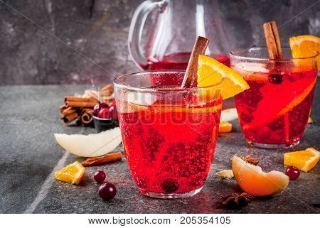 Cranberry And Orange Punch