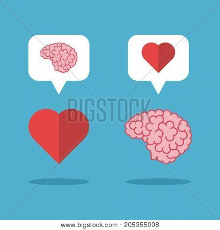 Mutual Love Brain, Heart