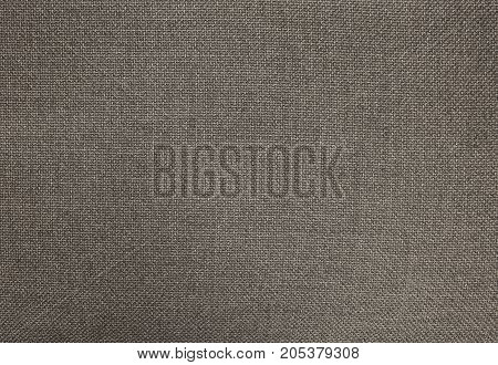 Textile Texture Close Up of Black Cotton Fabric Pattern Background in Pastel Colors Tone.