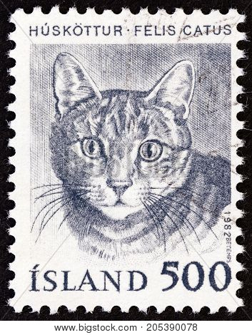 ICELAND - CIRCA 1982: A stamp printed in Iceland from the