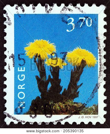 NORWAY - CIRCA 1997: A stamp printed in Norway from the