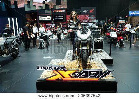 Bangkok Motor show Thailand Muang Thong Thani - March 302017 : Honda motor show booth Honda X-RDV.