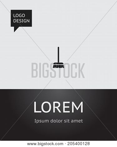 Vector Illustration Of Cleanup Symbol On Brush Icon