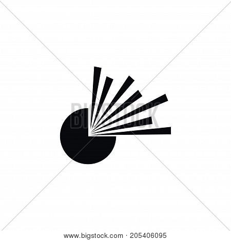 Burst Vector Element Can Be Used For Burst, Explosion, Bang Design Concept.  Isolated Explosion Icon.