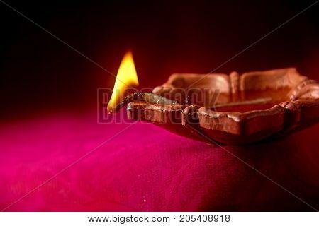 Diwali Lamp , Indian Festival Diwali , Deepawali