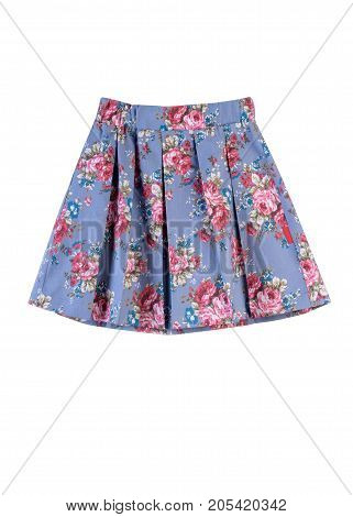 beautiful skirt for girls a skirt in a flower color summer clothes for girls