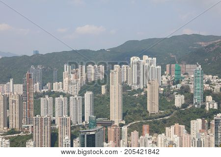 Hong Kong Island , View Of Blacks Link