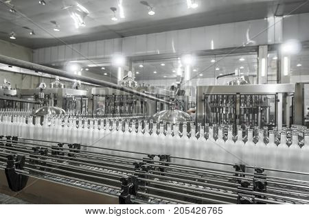 For The Production Of Glass Bottles Factory