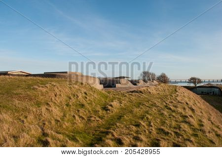 Masnedo fortress in Denmark in the spring
