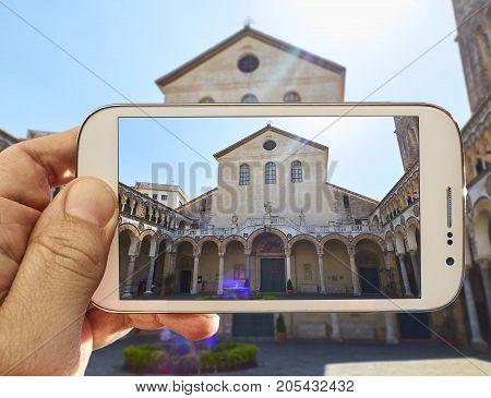 Cattedrale Di Salerno Cathedral. Campania, Italy.