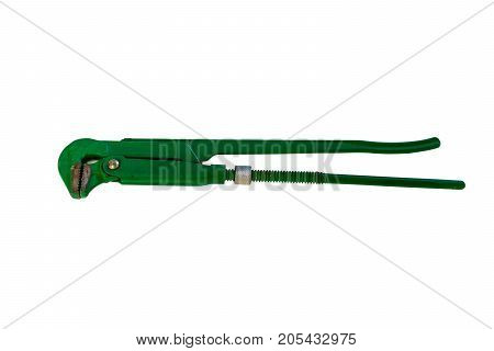 Pipe wrench isolated on white,wrench, isolated, pipe