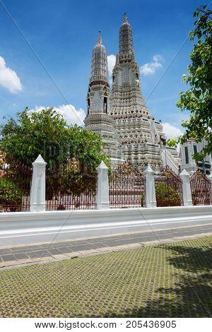 Temple of the Dawn Wat Arun in Bangkok