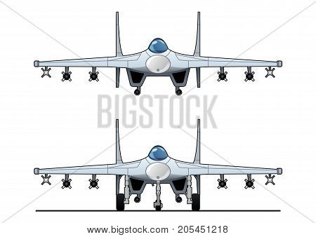 Illustration Of Fighter