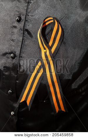 St. George Ribbon . Photos from the studio