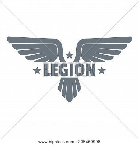 Legion wing logo. Simple illustration of legion wing vector logo for web