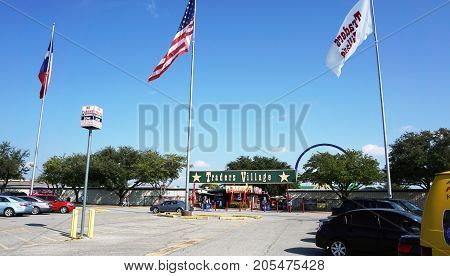 Grand PrairieTexas - Sept.232017 Traders Village Flea largest flea market in Texas. Opened in 1973.